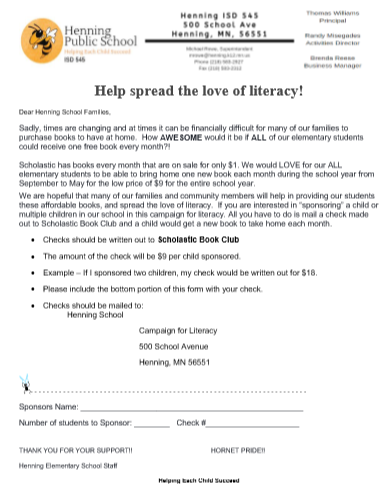 Love of Literacy Challenge
