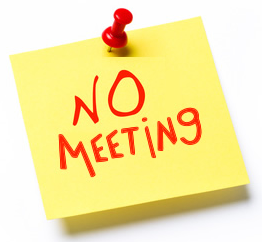 NO Meeting